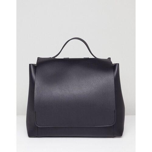ASOS DESIGN – Großer, minimalistischer Rucksack-Schwarz no size