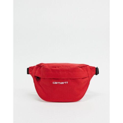 Carhartt WIP – Payton – Gürteltasche in Ätna-Rot & Weiß One Size
