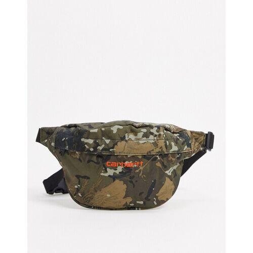 Carhartt WIP – Payton – Gürteltasche mit Military-Muster-Grün No Size