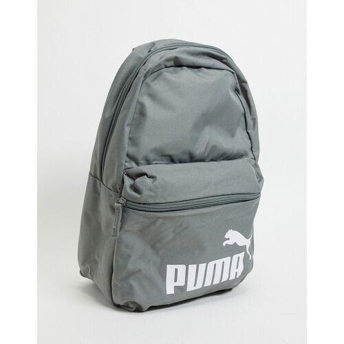 PUMA – Phase – Grauer Rucksack mit Logo No Size