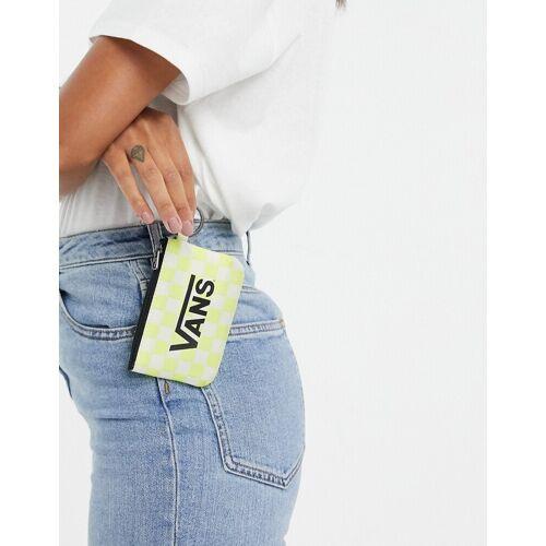 Vans – Gelbe Geldbörse und Schlüsselanhänger No Size
