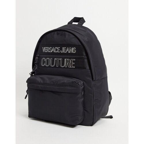 Versace Jeans Couture Versace Jeans – Couture – Rucksack mit Logo in Schwarz No Size
