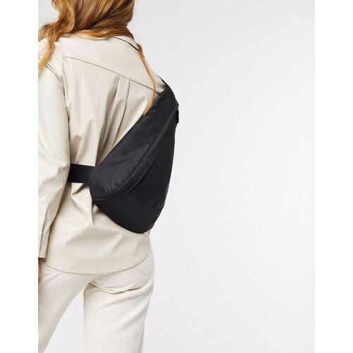 Weekday – Adina – Tasche mit Gurtzeug in Schwarz Einheitsgröße