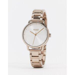 HUGO – Goldfarbene Armbanduhr –1540056 No Size
