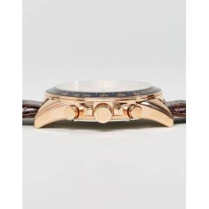 Tommy Hilfiger – Luke – Uhr mit Lederarmband, 1791118-Braun No Size