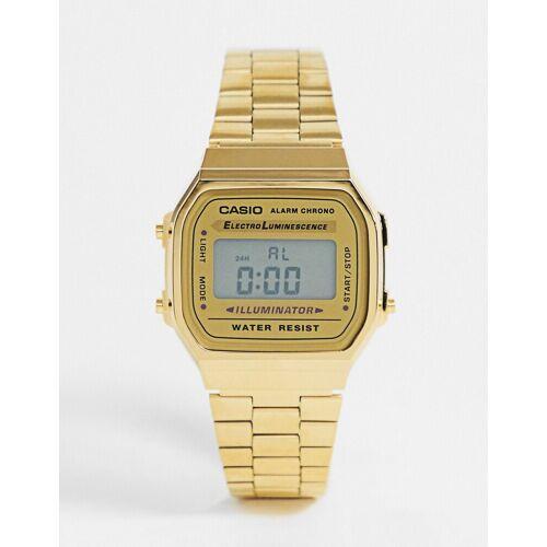 Casio – A168WG-9EF – Vergoldete, digitale Armbanduhr No Size