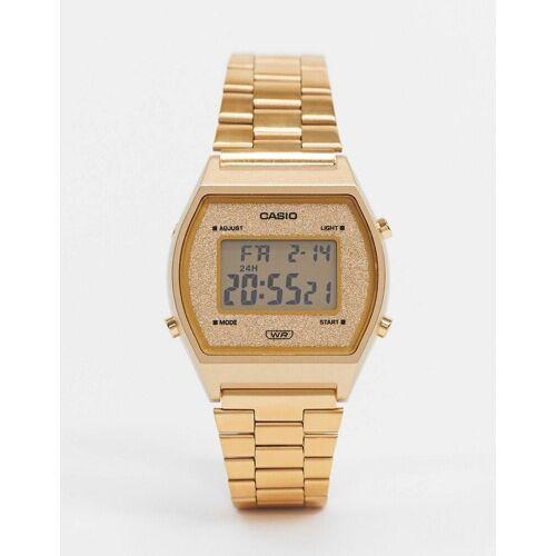 Casio – Digitale Armbanduhr in Gold No Size