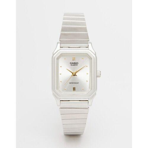 Casio – LQ 400D 7AEF – Armbanduhr im Vintage-Style-Silber No Size