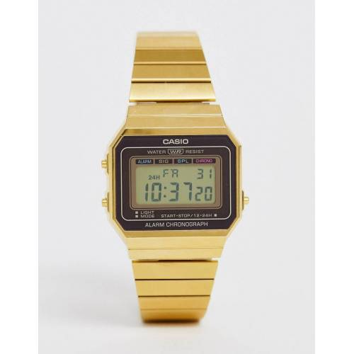 Casio – Vintage Revival – Armbanduhr-Gold No Size