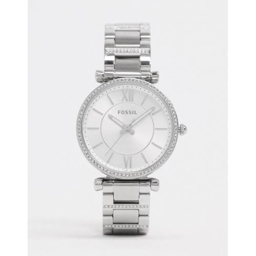 Fossil – Carlie – Armbanduhr in Silber, ES4341 No Size