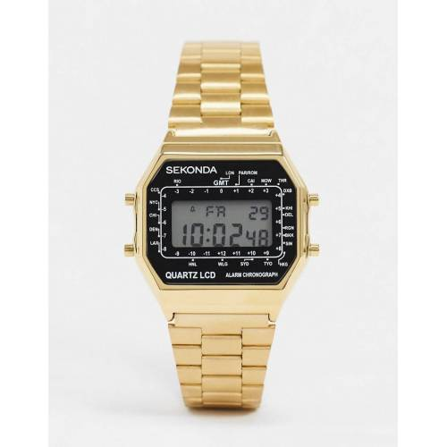 Sekonda – Digitaluhr in Gold No Size