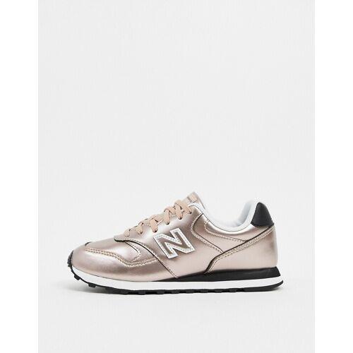 New Balance – 393 – Sneaker in Roségold 35