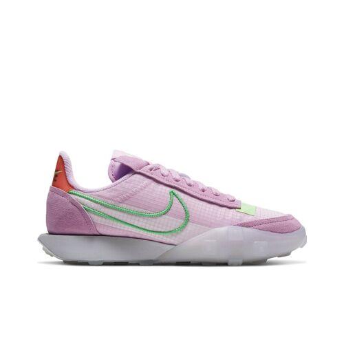 Nike – Waffle Racer – Sneaker in Rosa und Weiß 39