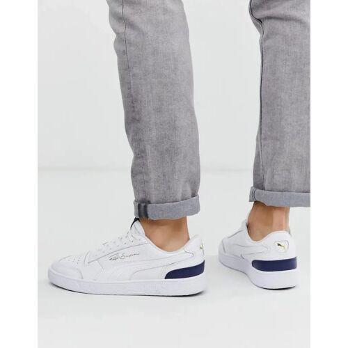 Puma – Ralph Sampson – Knöchelhohe Sneaker in Weiß 44.5