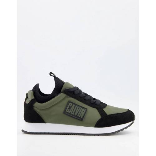 Calvin Klein Jeans – Jodey – Sneaker in Olivgrün 41