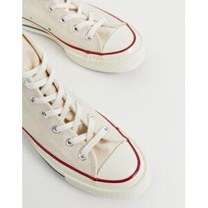 Converse – Chuck '70 – Hohe Sneaker in Pergament-Cremeweiß 37