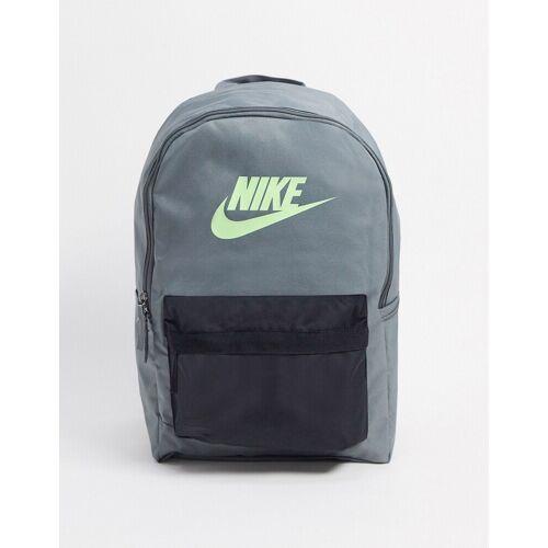 Nike – Heritage 2.0 – Grauer Rucksack mit Logo No Size