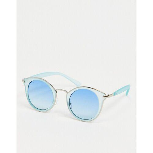 AJ Morgan – Cat-Eye-Sonnenbrille in Blau No Size