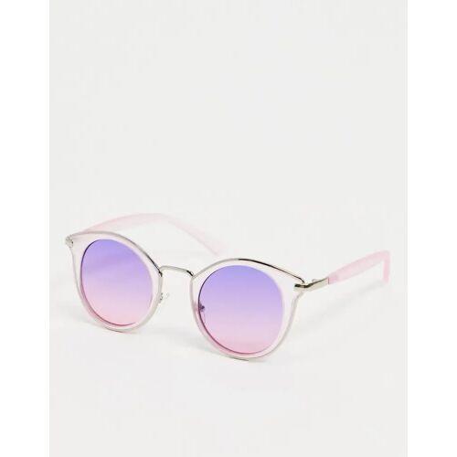 AJ Morgan – Cat-Eye-Sonnenbrille in Lila No Size