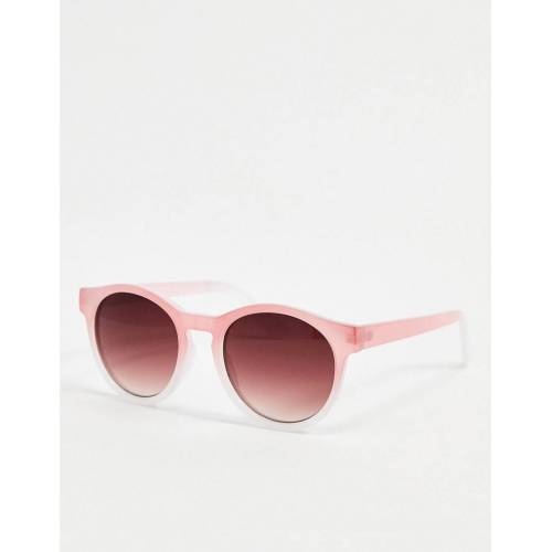 AJ Morgan – Runde Sonnenbrille in Rosa No Size
