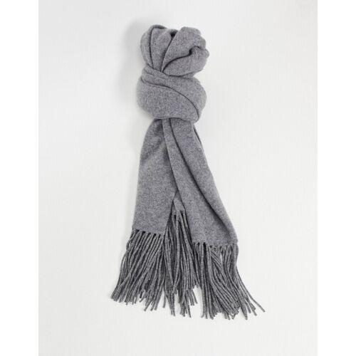 AllSaints All Saints – Schal aus gekochter Wolle in Grau No Size