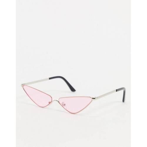 AJ Morgan – Fly Trap – Cat-Eye-Sonnenbrille in Rosa No Size