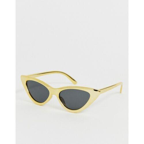 AJ Morgan – Gelbe Katzenaugen-Sonnenbrille No Size
