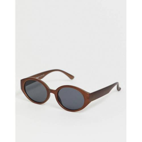 AJ Morgan – Katzenaugensonnenbrille in Bronze-Braun No Size