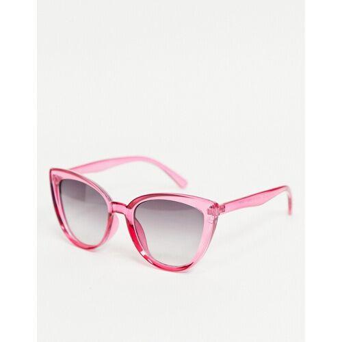 AJ Morgan – Katzenaugensonnenbrille in Rosa No Size