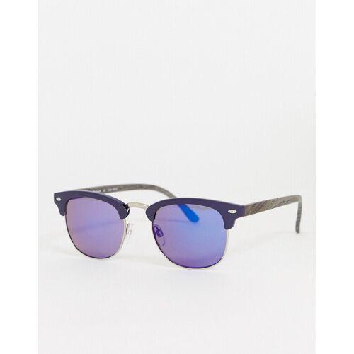 AJ Morgan – Kent – Verspiegelte Sonnenbrille in Grau No Size