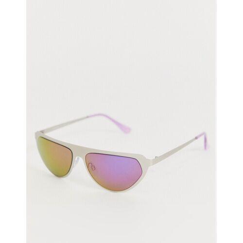 AJ Morgan – Silberne Sonnenbrille No Size