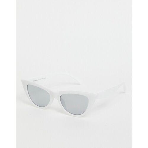 AJ Morgan – Weiße Katzenaugensonnenbrille No Size