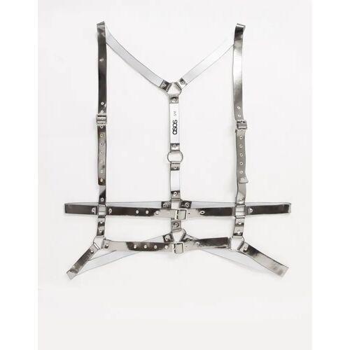ASOS DESIGN – Körperschmuck in Silber L/XL