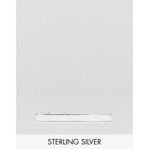 ASOS DESIGN – Krawattennadel aus Sterlingsilber No Size