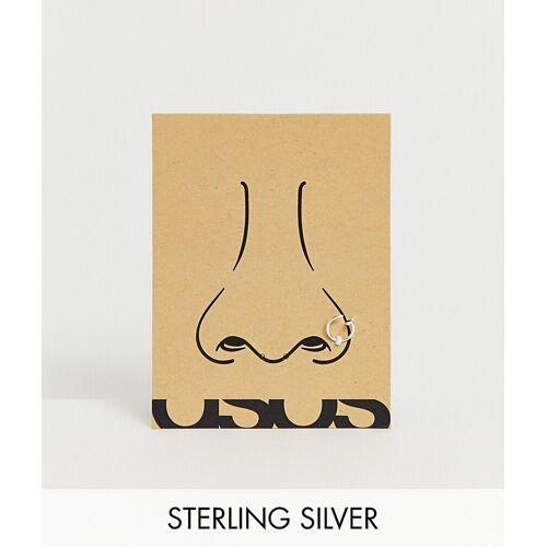 ASOS DESIGN – Nasenpiercing aus Sterlingsilber No Size