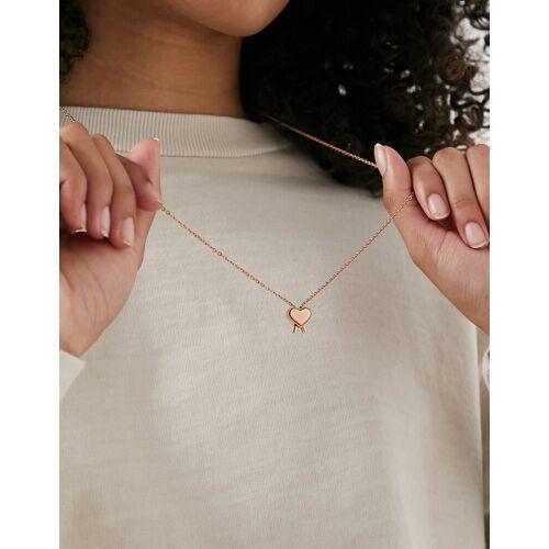 Calvin Klein – Schlichte Halskette in Gold No Size