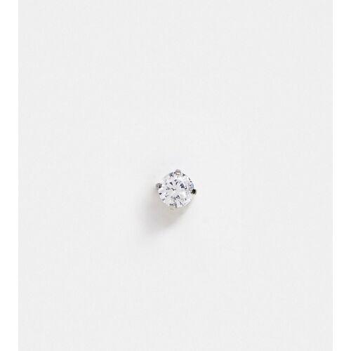Kingsley Ryan – Einzelner Labret-Ohrring-Silber No Size