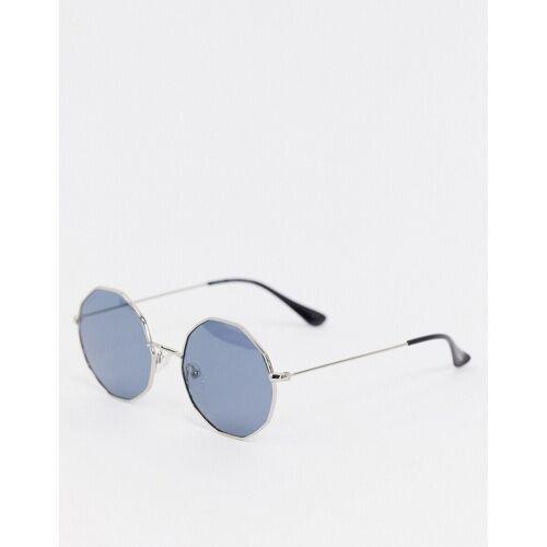 Pilgrim – Annora – Runde Sonnenbrille-Blau No Size