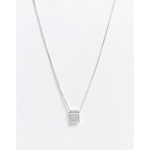 Pilgrim – Lia – Silberbeschichtete Halskette in Silber No Size