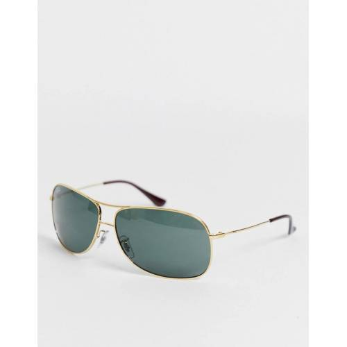 Ray-Ban Ray Ban – Piloten-Sonnenbrille in Gold No Size