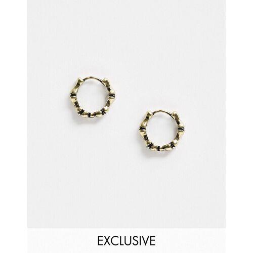 Reclaimed Vintage – Inspired – Ohrringe in Vintage-Goldoptik No Size