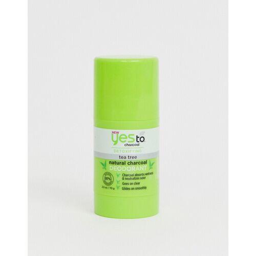 Yes To – Detox Charcoal Natural Deodorant – Aktivkohle und Teebaumöl-Keine Farbe No Size