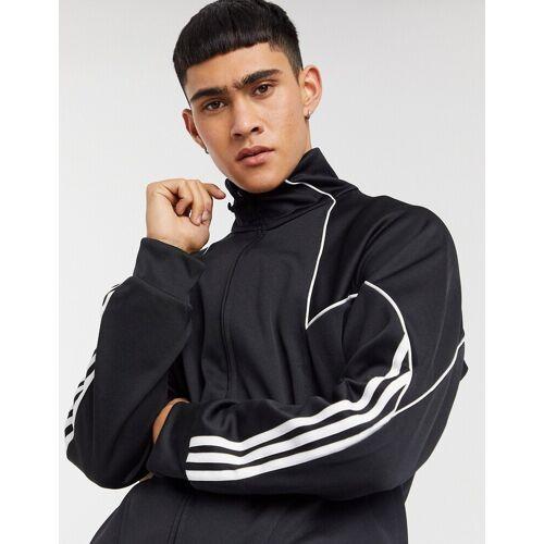 adidas Originals – TF – Trainingsjacke aus Polyester in Schwarz XS