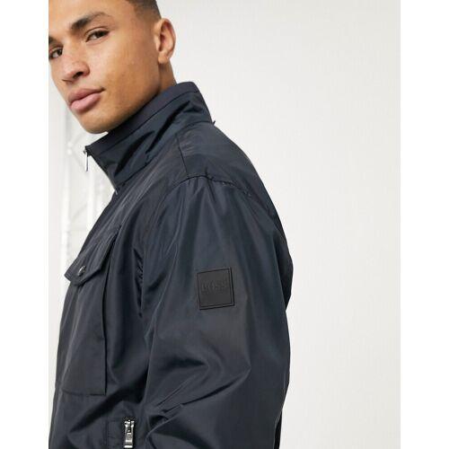 BOSS – Cuze – Wasserabweisende Jacke-Blau 50