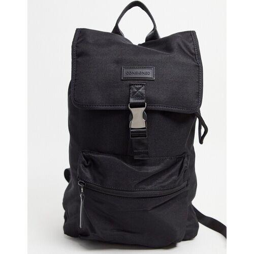 Consigned – Rucksack mit Clipverschluss-Schwarz One Size