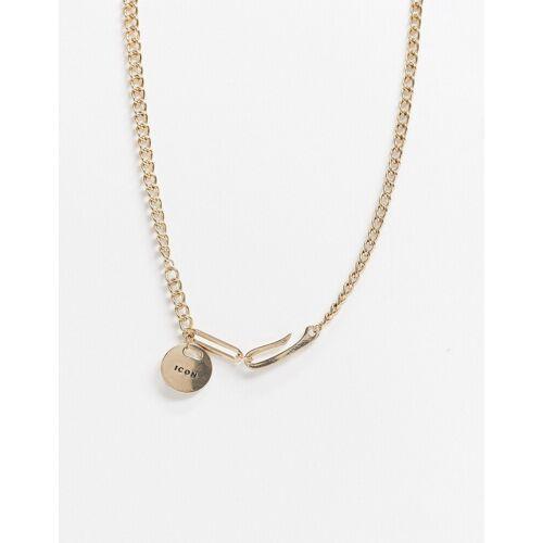 Icon Brand – Goldfarbene Halskette No Size