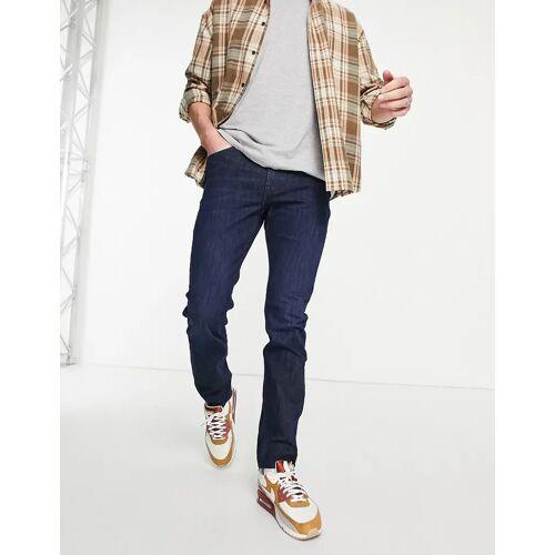 Lee – Rider – Schmale Jeans in Clean Westwater-Blau W32 L32