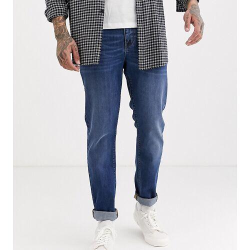 Noak – Enge Jeans in dunkelblauer Waschung W28 L32