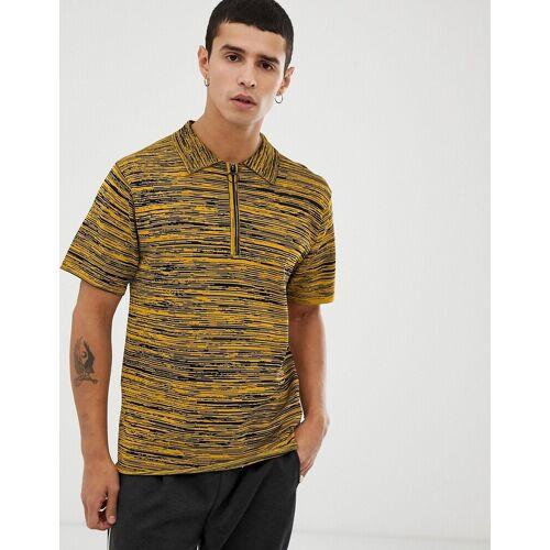 Tiger of Sweden Jeans – Gelbes Polohemd S