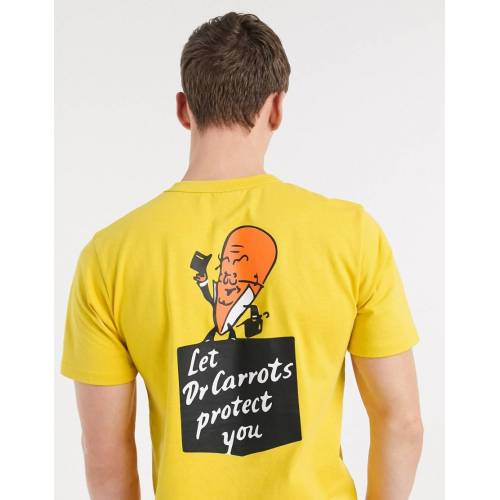 Carrots – Dr Carrots – T-Shirt in Gelb S
